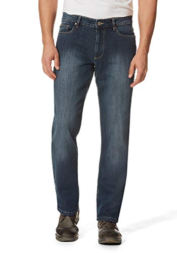 HERO BY JOHN MEDOOX Straight Cut Stretch 99% Baumwolle, 1% Elastan, Deep Blue Used, 46W / 34L