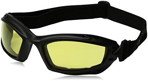 Bobster Brille Baja, Schwarz matt/Gelb
