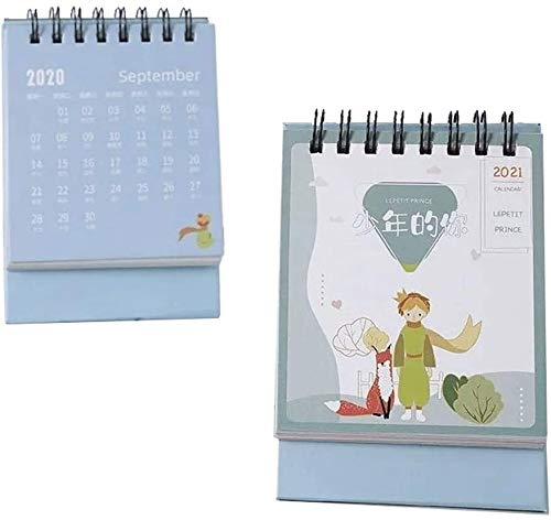 2021 Calendario Mini Desk Desk Calendar Pintura al óleo Calendario de escritorio Calendario de pie Flip Mensual Calendario para Home Horario Planificador Calendario Regalos ( Color : F Desk Calendar )