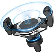 Wireless Car Charger, AbleGrid Zilean 10W Fast Wireless Car Charger Mount Phone Holder Qi Wireless Car Charger Compatible for iPhone Xs Max/XR/X/8/8Plus Samsung S9/S8/Note 8 and More