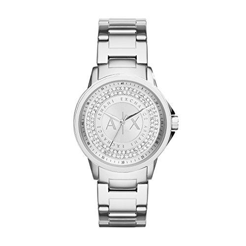 Armani Exchange Reloj Analogico para Mujer de Cuarzo con Correa en Acero Inoxidable AX4320