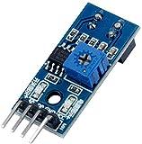 TeOhk 6 X TRCT5000 MóDulo Sensor Infrarrojo de Infrarrojos IR ObstáCulo para Evitar ObstáCulos Interruptor de LíNea de Barrera MóDulo Sensor para Smart Car W/Cable 3.3V-5V