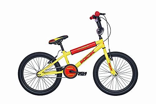 Descheemaeker - Bicicletta da bambino Kick 20', colore: Giallo