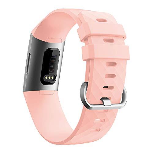 Cytech Correa para Fitbit Charge 4/Charge 3 Pulsera, Coloridos Reloj Silicona Reemplazar Banda Pulsera para Fitbit Charge 3/Charge 4
