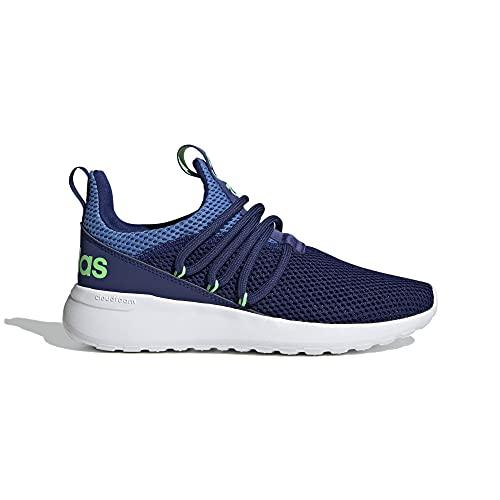 adidas Lite Racer Adapt 3.0 Running Shoe, Victory Blue/Victory Blue/Focus Blue, 4 US Unisex Little Kid