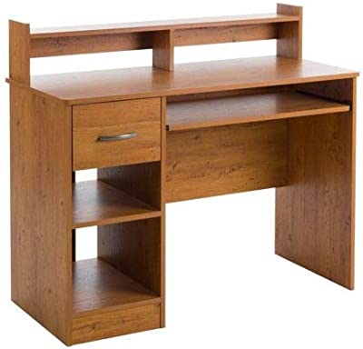 Laptop Desk, Student, with Keyboard Tray, Country Pine
