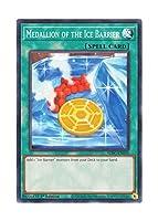 遊戯王 英語版 SDFC-EN030 Medallion of the Ice Barrier 氷結界の紋章 (ノーマル) 1st Edition
