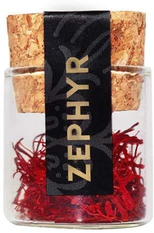 Zephyr zafferano in pistilli interi, confezione da 0,5 grammi