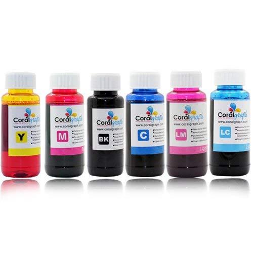 Bulk–Paquete 2recambios tinta Epson Impresora