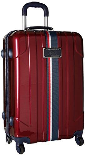 Tommy Hilfiger Lochwood Hardside Spinner Luggage, Burgundy, 25 Inch