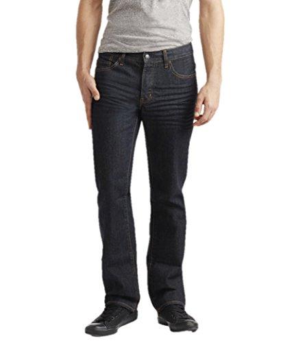 Aeropostale Mens Straight Dark Wash Jeans 28x30 Blue