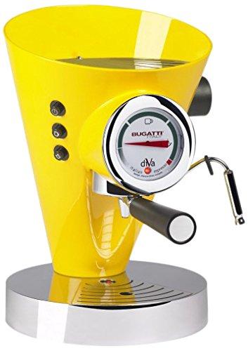 Casa Bugatti 15-DIVAC6 Volautomatische espressomachine Diva, aluminium, roestvrij staal, geel