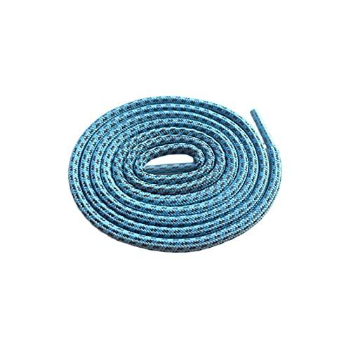 Lacet réfléchissant Lacets Corde de Magie Blanche Lacets pour Chaussures Shoestring Bottes Baskets, 278 Ligth Bleu 3m, 80cm