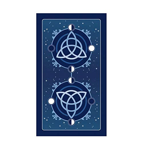 SYJH Board Game Tarot Cards Triple Goddess, Mysterious English Edition Magical, Family Party