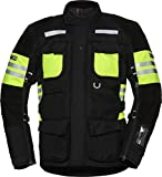 IXS Tour Lt Jacket Montevideo-St Black-Fluoyellow M
