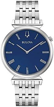 Bulova 38mm Regatta Stainless Steel Bracelet Men's Watch