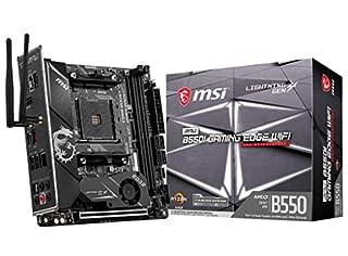 MSI MPG B550I Gaming Edge WiFi ITX Motherboard for AMD AM4 CPUs 7C92-002R (B08B4TGCM9) | Amazon price tracker / tracking, Amazon price history charts, Amazon price watches, Amazon price drop alerts