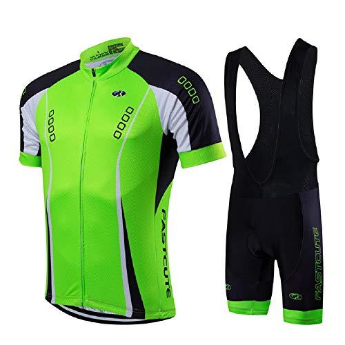 21Grams Conjunto de Ropa de Ciclismo para Hombre Maillot Ciclismo Culotte Ciclismo...