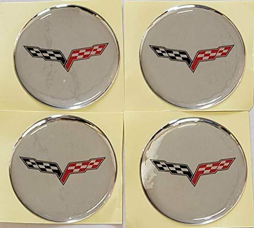 corvette wheel emblem - 1