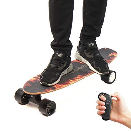 LMIAOM 250W 18km / h Monopatín eléctrico Control Remoto inalámbrico Longboard Skate...