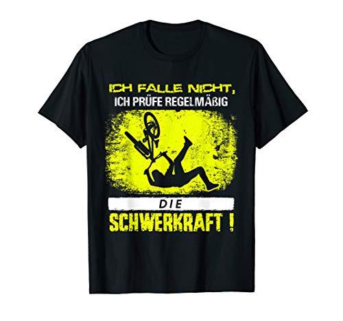 Downhill Biker Fahrrad & MTB Sprüche Mountainbike T-Shirt