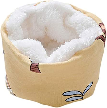 XIAOQIU Scarf Winter Baby Girls Scarf Cotton Boys Plush Scarf Autumn Kids Warm Scarves Neck Ring Collar Children Thick Neckerchief Shawl (Color : D15, Size : One Size)