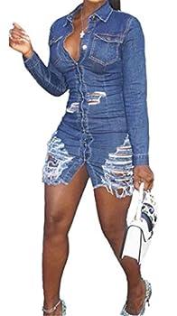 Best womens blue jean dress Reviews