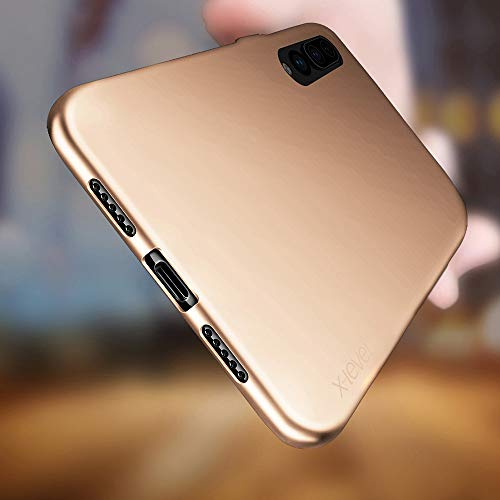 Huawei P20 Pro Hülle, [Guadian Serie] Soft Flex Silikon Premium TPU Echtes Telefongefühl Handyhülle Schutzhülle für Huawei P20 Pro Case Cover – Gold - 3