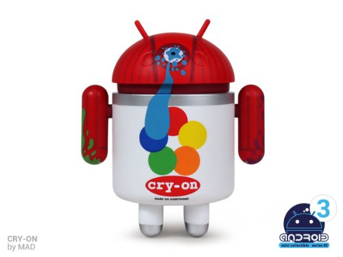 Android Mini Series 3 Cry-On by MAD 1/16 Figure