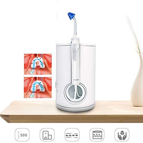 WHYTT Tratamiento de rinitis alérgica con Lavado Nasal eléctrico Irrigador para niños Adultos Diseño ergonómico Rotación de 360 Grados Spray Suave y sin Agua Rango de presión 30-120psi 20 * 13 cm