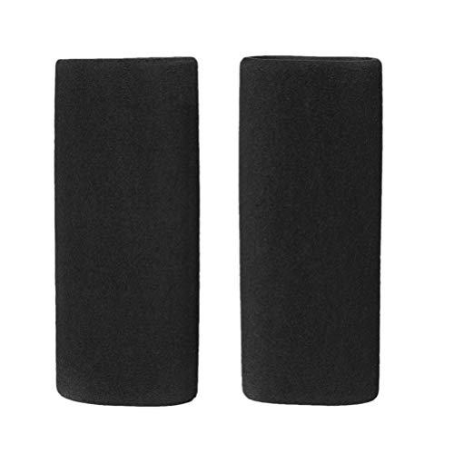 Review Garneck 1 Pair Handlebar Grips Comfortable Universal Soft Non-Slip Handlebar Cover Ridding Eq...