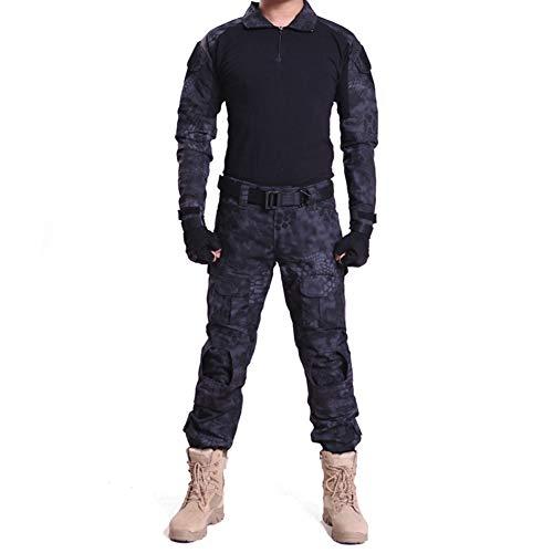 HRS Herren Tactical Camouflage Anzug...