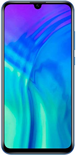 Honor 20 Lite Smartphone Bundle (15,77 cm (6,21 Zoll) AllView Display, Al Triple-Kamera, Dual Nano-SIM, 128 GB interner Speicher, Android 9.0) Phantom Blue + gratis Classic Earphones