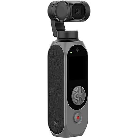 FIMI PALM 2 ジンバルカメラ WIFI 4K 128°超広角ミニポケットカメラ100Mbps手振れ補正 電池308分間使用可能ノイズリダクションマイク顔認識スマートトラック