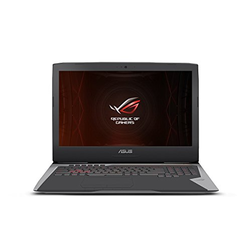ASUS ROG G752VS-XS74K OC Edition Gaming Laptop, 17-inch 120Hz G-SYNC Full-HD, Intel Core i7-7820HK, GTX 1070, 512GB PCIe SSD, 16GB RAM, Copper Titanium - 2017