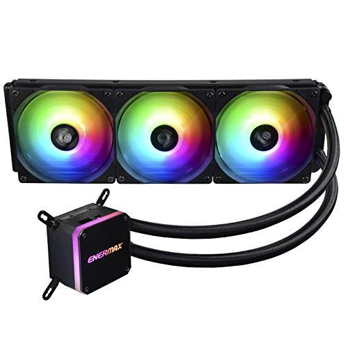 enermax VENTOLA CPU LIQMAX III 360 ARGB 360mm, Nero