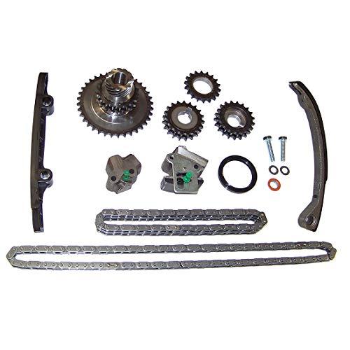 DNJ TK622 Timing Chain Kit for 1991-1998 / Nissan / 240SX / 2.4L / DOHC / L4 / 16V / 2389cc / KA24DE