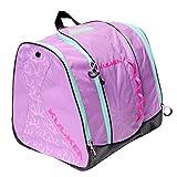 KULKEA Speed Star - Kids Ski Boot Bag, Lavender/Pink/Green