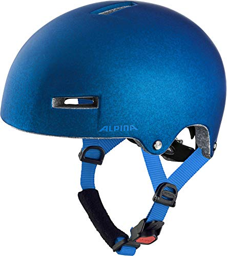 ALPINA AIRTIME Fahrradhelm, Unisex– Erwachsene, blue, 52-57
