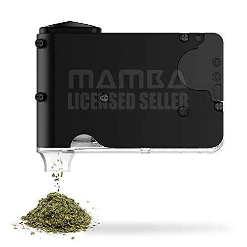 Chewy Portable Battery Herb Grinder. 2 Gram Storage Capacity. Grind. Store. Dispense