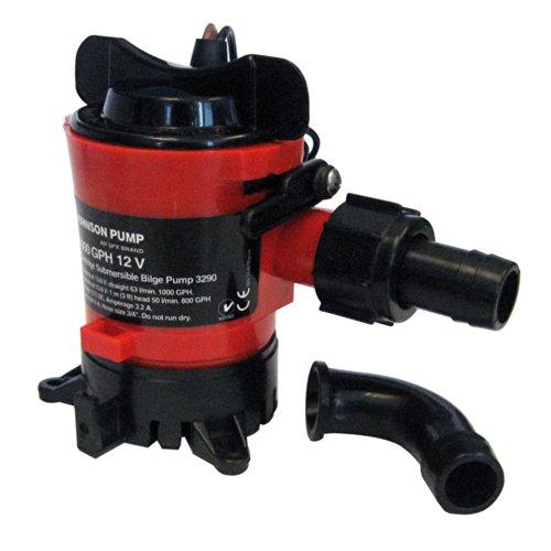 Johnson Pump 189–32703Pumpe Schmutzwasserpumpe, 2839L/H, 19mm, 12V