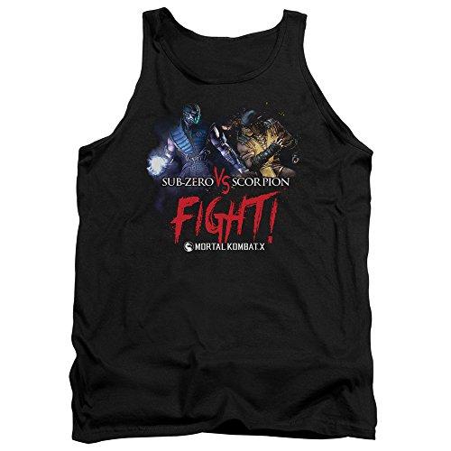 Mortal Kombat - - Lutte Hommes Débardeur, Large, Black