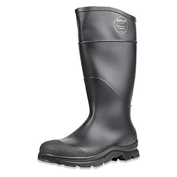 Servus Comfort Technology 14  PVC Steel Toe Men s Work Boots Black - Steel Toe 8