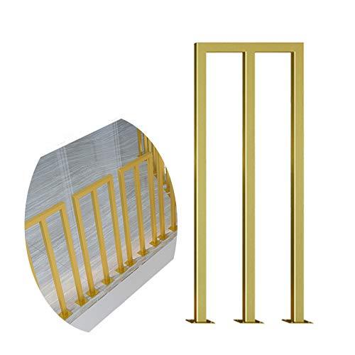 Barandilla De Escalera En Forma De M, Loft Ayuda A Grab Rail, para Villa/Jardín/Hotel, Tamaño Personalizable BAIYING (Color : Gold, Size : 80cm)