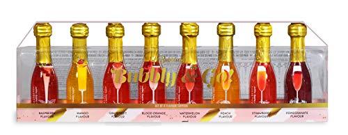 Modern Gourmet Foods - Bubbly & Go Prosecco & Champagner Toppers Geschenkset - Mit 8 verschiedenen Geschmacksrichtungen