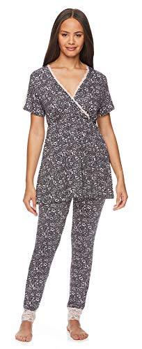 Lamaze Intimates Womens Maternity Nursing Pajama...