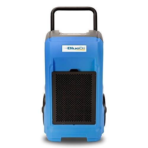 Lowest Price! BlueDri BD-76 Commercial Dehumidifier for Home, Basements, Garages, and Job Sites. Ind...