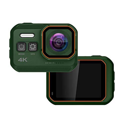 4K Action Cam,170°Grandangolo, WiFi Ad Altissima Definizione 4k, Zoom Digitale 4X Sott'Acqua Ultra HD Sports Camera,Utilizzato per Sport e attività, Immersioni, Nuoto, Corsa, Ciclismo, ECC,3