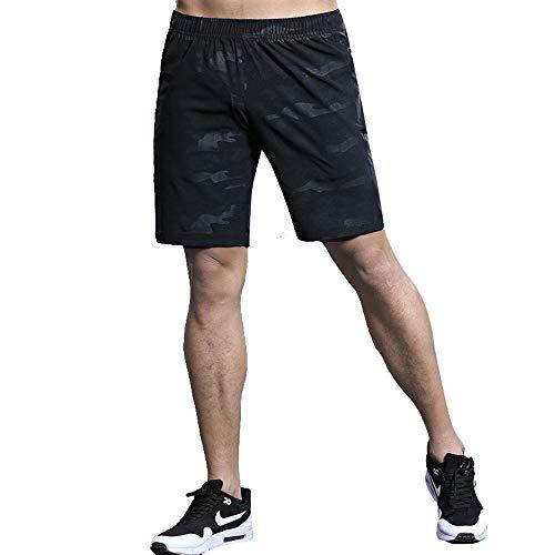 Hombres Pantalónes Cortos de Running, Pantalones Cortos Deportivos , Pantalones Cortos de...