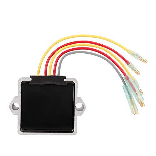 Suuonee spanningsgelijkrichter, aluminiumlegering spanningsregelaar gelijkrichter geschikt voor Mariner buitenboorden 5 draad 815279-3 883072T